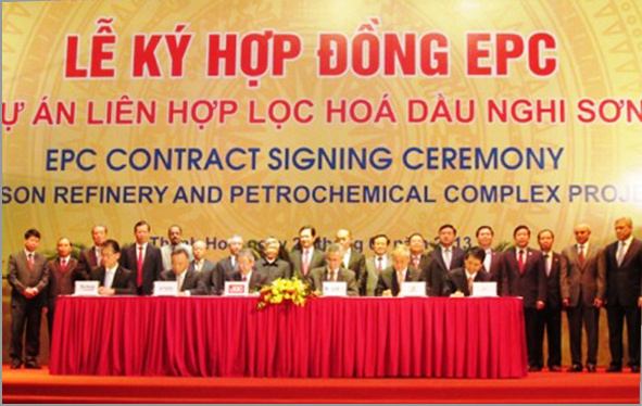 EPC contract for Vietnam's biggest oil refinery project signed